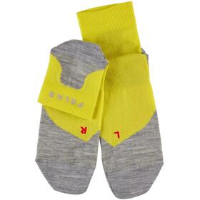 Falke RU 5 Lightweight Calze corte Uomo, giallo/grigio